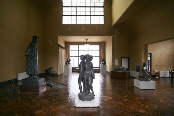 朝倉彫塑館に美を見る